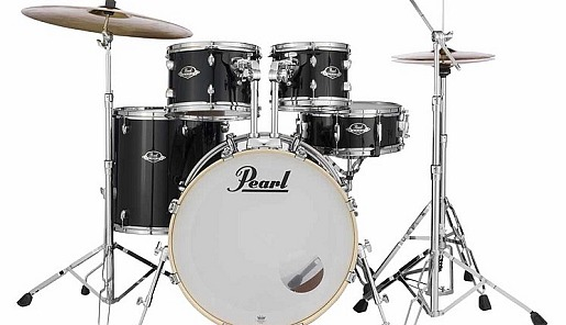 Pearl Export Drums. inkl. Becken, Hocker + Sticks nur 779,- Euro