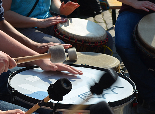 Drum Circles - Unterricht - Workshops